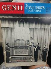 Vintage Aubrey Illusionist Genii Issue 1951