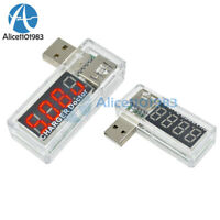 2PCS Voltage Current Meter Battery Tester USB Charger Doctor Power Detector