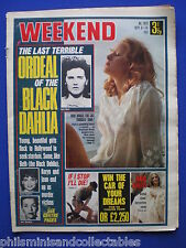 Weekend Magazine - The Black Dahlia & other mysteries - 8th Sep.1971