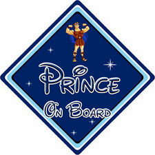 Disney Prince On Board Car Sign - Baby On Board - Hercules DB