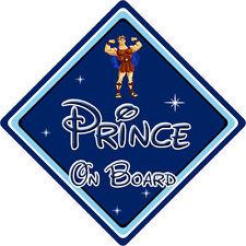 Disney Prince On Board Car Sign – Baby On Board – Hercules DB