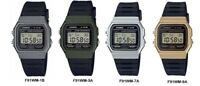 Casio Men's Digital Casual Watch ‑ F91WM-1B/F91WM-3A/F91WM-7A/F91WM-9A