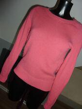 Boden Gr. 8 Rundhals 80% Wolle bubblegum pink Pullover (73)