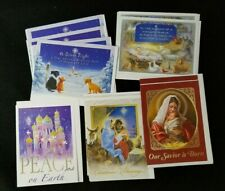 Sisters of St. Francis of Assisi Religious Christmas Cards Set of 11 5 Designs
