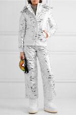 NEW Topshop Sno Liza Jane Metallic Camouflage-Print Ski Pants - 12