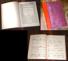 si j'étais roi opéra-comique partition complète chant piano 1890 Adolphe Adam