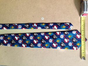 Neck Tie - Charlie Brown and Gang (PEANUTS) - Circle of Friends - Made in USA