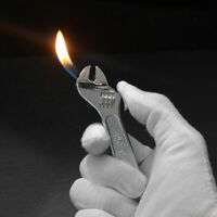 Wrench Fiery Lighter Metal Inflated Jet Hardware Accessories Cigarette Safety
