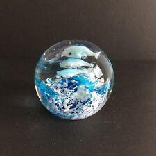 Paperweight / Briefbeschwerer Glas Kugel Glasdeko Wohndeko ca. 7 cm