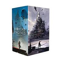 Philip Reeve Mortal Engines Quartet 4 Books Collection Ian McQue box set NEW