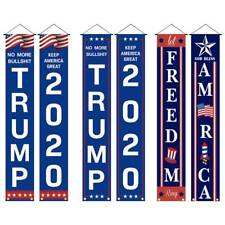 Trump 2020 Keep America Great Donald Re-Election President Flag Garden Banners