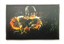 Scorpion Mortal Kombat Patch Morale Militaire Tactique Armée Drapeau 7,6cm x 5cm
