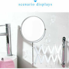 WALL MOUNTED MIRROR BATHROOM COSMETIC SHAVING MIRROR MAGNIFYING MAKEUP NEW