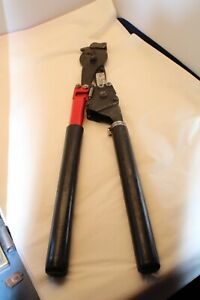 HK Porter 8690FH Hard Cable Ratchet Cutter Copper Aluminum Wire Chain HK Tool