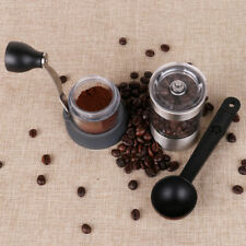 Portable Manual Coffee Grinder Set Bean Spice Pepper Mill Spoon Brush Set