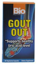 Bio Nutrition Goutte Sortie Supports Sain Acide Urique Niveaux 60 Végétarien