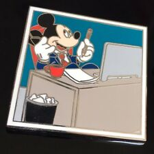 Disney Mickey Mouse Pin LE: 500 - The Main Street Gazette Pin Set - Businessman