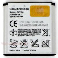 OEM Sony Ericsson BST-38 930mAh Battery for W995i W980i K770i C905 K850 C902