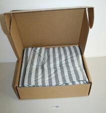 Bettwäsche Set 1x Decke 2x Kopfkissen 155x220 Streifen light grey (F1895-R80)