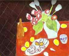 Henri Matisse Lithograph Poster Tulips  Et Huitres 1999 Full size