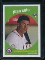 2018 Topps Throwback Thursday Juan Soto RC Card #162 Rookie SP