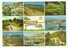 Torbay 8 view postcard