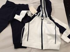 New Armani Junior  Boys Logo Track suit set Pants hoodie top 6 Months  $180