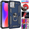 Shockproof Military Armor Case for iPhone 11 Pro Max Magnetic Ring Stand Cover