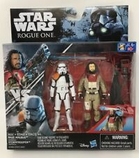 Star Wars Rogue One Baze Malbus Vs Imperial Stormtrooper Action Figures