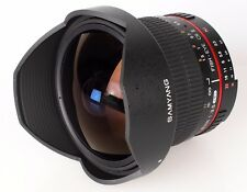 Obiettivo Samyang Fish-Eye CSII Multi-Coated 8mm F3.5 x Canon EOS (Gar. 2 anni)