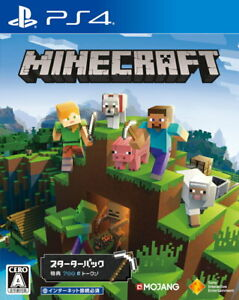 Minecraft Starter Collection Sony PS4 Video Games From Japan Tracking NEW
