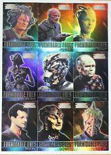 The Complete Star Trek Voyager Formidable Foes 9 Card Insert Set
