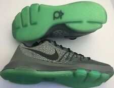 Nike KD 8 VIII Hunt's Hill Night Wolf Grey Green Glow 749375-020 shoe US Sz 13