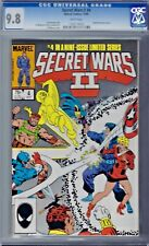 SECRET WARS Vol 2 # 4 CGC 9.8 Joe Shooter Story Marvel