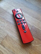 Amazon Fire TV NEW Stick Remote Vinyl Sticker Cover Gloss Red Football Team