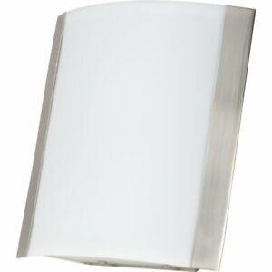 HD SUPPLY LED WALL SCONCE SATIN NICKEL FINISH 326622