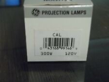 CAL GE 300W 120V Projection Lamp Projector Bulb NOS