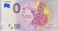 BILLET 0 EURO  HABANO PURE CABANO  CUB*   2019-1 N°  DIVERS