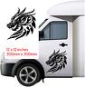 "DRAGON  300mm x300mm   Car/Van/caravan/ boat Window Sticker decal 12X12"""