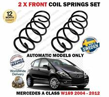 FOR MERCEDES A150 A160 A170 A180 A200 2004-2012 NEW 2X FRONT COIL SPRINGS KIT