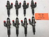 01-04 Chevrolet GMC DURAMAX LB7 6.6 HIGH PRESSURE DIESEL FUEL INJECTORS OEM