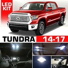 2014-2017 Toyota Tundra Interior + Reverse LED Light Package Kit 18pc