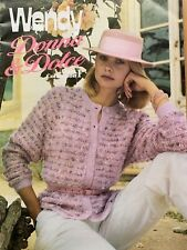 Ladies Knitting Pattern Booklet 12 Patterns Jumper Skirt Jacket Waistcoat etc