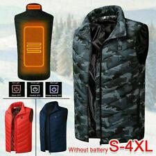 Abrigo Chaqueta Chaleco Eléctrico con Calefacción USB Ivierno Frio Hombre Mujer