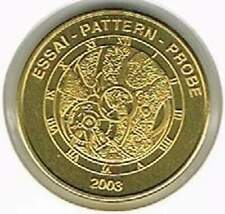 Switserland 2003 probe-pattern-essai - 50 eurocent - Uurwerk