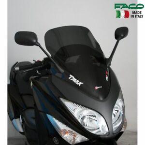 28015 CUPOLINO SPOILER FACO FUME SCURO PER YAMAHA T-MAX TMAX 500 2008 - 2011