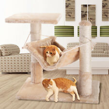 "18"" Deluxe Cat Tree  Condo Furniture Scratching Post Pet House Pet Play Toy"