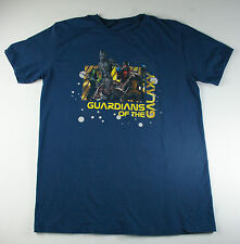 Guardians of the Galaxy SS T-Shirt Blue Men's Size Large
