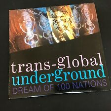 TRANS GLOBAL UNDERGROUND Dream Of Nations 1993 UK 2xLP Tribal Electronic EX