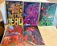 We Only Find Them When They're Dead #1 - 5 Boom Comic Al Ewing 1st Print
